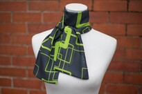 Corporate uniform scarf on mannequin from Aria Creative